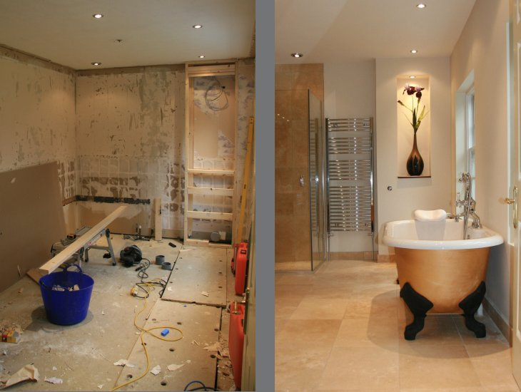 other services rh johnshomeimprovement org House Painting Before and After Bathroom Remodeling Before and After Tub